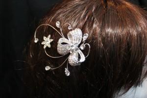 5092 Silver hair Clip